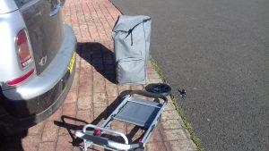Equipment failure Plein air painting