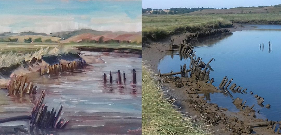 IBBAS Paint Out Competition Blythburgh