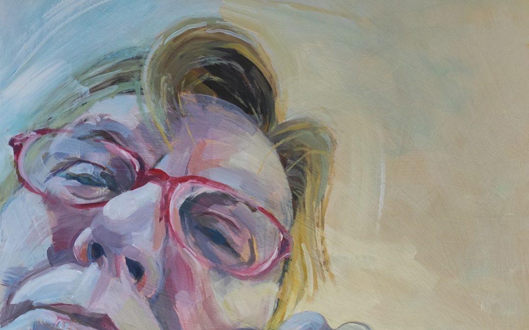 Amanda Barrett Self Portrait january 2020