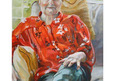 Portrait of Lady in Orange